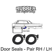 1966 1967 1968 Chrysler 300 Newport New Yorker Imperial Door Seals - pair