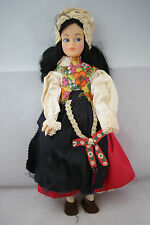 Tammy or Sindy clone doll black hair Mary Poppins national costume 60's