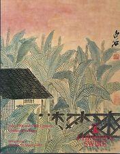 CHRISTIE'S HK CHINESE PAINTINGS Fu Baoshi Qi Baishi Zhang Daqian Catalog 1993
