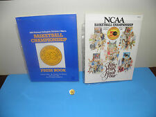 NCAA Fifty Years of the Final Four April 1988 Press Book Program & Balfour Pin