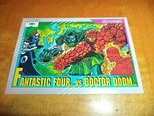Fantastic Four vs. Dr. Doom # 124 1991 Marvel Universe Series 2 Impel Base Card