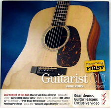 Guitarist CD June 2009 CD ONLY Duesenberg Martin VOX Bad Cat The Birds Beatles