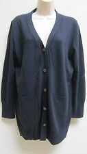 Rena Lange Made in Germany  Navy-color Sweater/Cardigan. Size : M/L