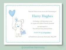 20 Personalised Christening Invitations Naming Day invites boy girl unisex