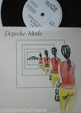 "DEPECHE MODE - Dreaming Of Me ~ 7"" Single PS"