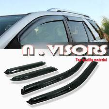Side Window Visors Rain/Sun/Wind Guard Vent Shade for Escape Tribute Mariner