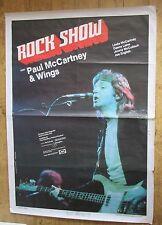 Paul McCartney Concert Poster 1982