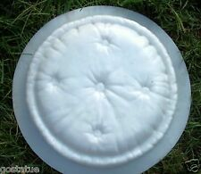 """Pillow stepping stone heavy duty plastic  mold 2"""" thick Round Pillow mould"""