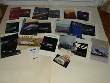 Lot 20 catalogue Auto SAAB 900 9000 95 99  car prospectus brochure prospekt