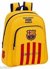FC Barcelona sac à dos FCB Barcelone Jaune M 34 cm cartable maternelle 233366