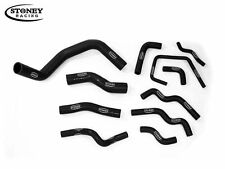 Stoney Racing Nissan 200SX 240SX Silvia S13 S14 S15 Silicone Coolant Hoses Black