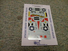 Superscale  decals 1/48 48-1080 P-47D Bubbletop 513 FS 406 FG    F49