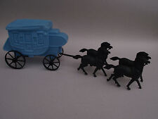 Western stagecoach - Diligence western- pour petits soldats - Made in Honk-Kong