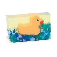 Yellow Rubber Duck Kids Baby Bath Vegetable Glycerin Gift Soap Primal Elements