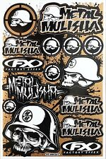Metal Mulisha Rockstar Energy Sticker Bike MTB Motocross Vinyl DecaI Graphic T19