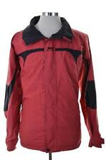 Helly Hansen Mens Windbreaker Jacket Large Red Nylon Polyurethane