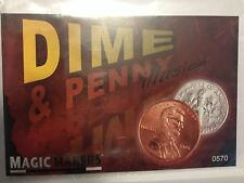 Dime and Penny Illusion - Dime & Penny - Similar to Scotch and Soda Illusion