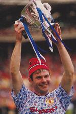 Football Photo BRIAN McCLAIR Man Utd 1991-92