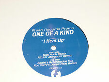 "ONE OF A KIND - I Heat up - UK DJ Promo 4-track 12"" Single"