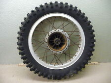 1974 YAMAHA MX360 REAR RIM AND TIRE
