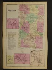 New York, Ontario County Map, 1874, Seneca Township, Double Page, Y3#73