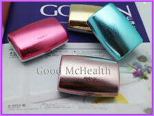 Color Box Contact Lens Case with Soaking Box and Mirror 2015 New Free Shipping