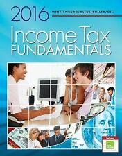 Income Tax Fundamentals 2016 by Gerald E. Whittenburg, Martha Altus-Buller...