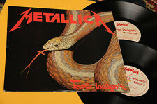 METALLICA 2LP TERROR INCOGNITO 1° STAMPA ORIGINALE EX+ TOP TOP RARE COLLECTORS