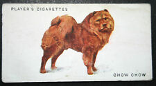 Chow Chow   Edible Dog      Early 1930's Original Vintage  Colour Card   VGC