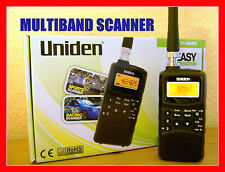 UNIDEN RADIO SCANNER *INCENDIE DEPARTMENT *POLICE* AIRBAND *TAXI *MARINE   Neuf