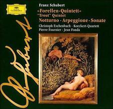Franz Schubert: Trout Quintet; Notturno; Arpeggione Sonate New CD