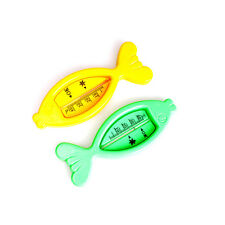 Floating Fish Lovely Plastic Float Toy Baby Bath Tub Water Sensor Thermometer