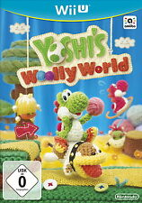 Yoshi 's Woolly World (Nintendo Wii U, 2015, - box) ---