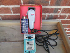 Vintage Wahl Electric Super 89 Taper Hair Clippers Set with the Original Box