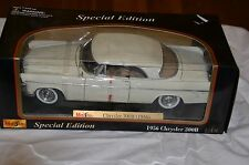 1:18 Scale Die-cast 1956 White Chrysler 300B