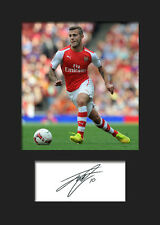 Jack Wilshere - Arsenal Signed Photo A5 Mounted Print - FREE DELIVERY