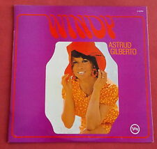 ASTRUD GILBERTO  LP ORIG FR  60'S  WINDY