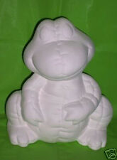 Ceramic Bisque Ready to Paint Frog Bank really Cute!