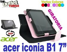 "FUNDA PARA TABLET ACER ICONIA B1 7"" INCH UNIVERSAL BARATA STAND LIBRO"