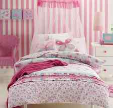 Jiggle Giggle 7 pce Girls Katie Butterfly Single Bed Quilt Cover Package