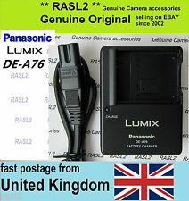 Genuine Original Panasonic Lumix Charger DE-A76 BCH7e DMC- FP5 FP3 FP1 TS10 FT10