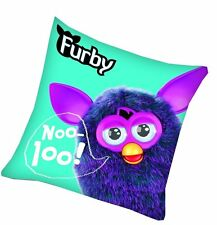Cuscino KISSEN Furby and Friends Turchese 40 x 40 CM NUOVO