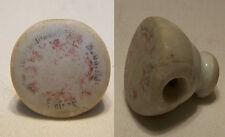 Alter Verschluss einer Flasche Porzellan