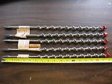 One (1) Irwin Mainbor Auger # 12 Wood Drill For Hand Brace & Electric Drill