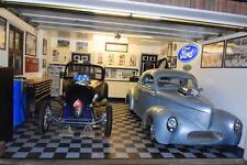 Rubber PVC Garage factory Flooring Interlocking Floor tiles 60p each THE BEST!!!