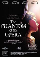 The Phantom Of The Opera (DVD, 2005)**R4**Gerard Butler*VGC*