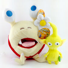 2X Nintendo Game Yellow Pikmin Flower & Red Bulborb Plush Stuffed Animal Toy New