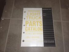 2005 Lincoln Aviator Factory Parts Catalog Manual 4.6L V8 AWD
