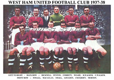 West Ham United F.C. squadra di stampa 1937-38 (Macaulay/Bicknell/Piccolo/WALKER)