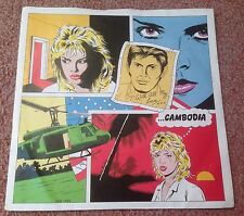 1981 KIM WILDE CAMBODIA / WATCHING FOR SHAPES RAK 336 A1/B1 PRESS EXC